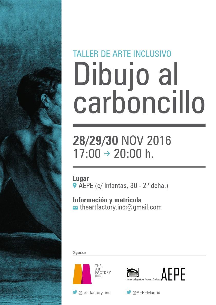 TALLER INCLUSIVO DE DIBUJO AL CARBONCILLO