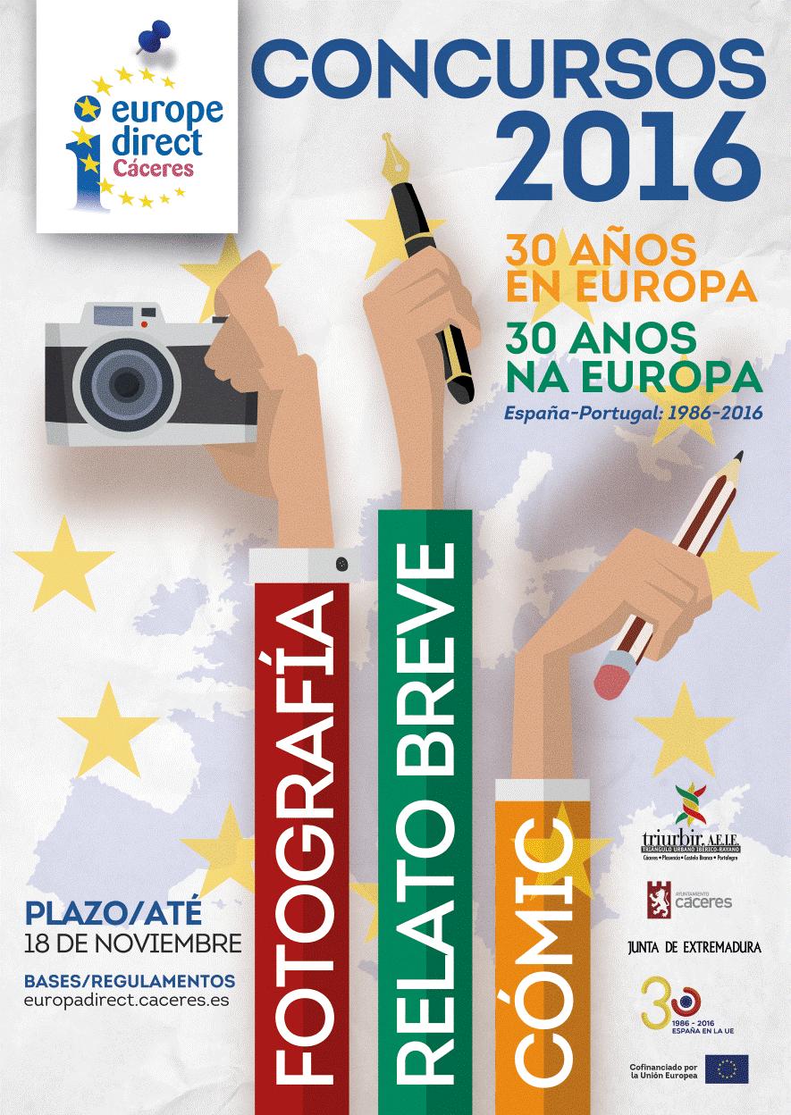 Concursos de Relato breve, Fotografía y Cómic 2016 – Ayuntamiento de Cáceres